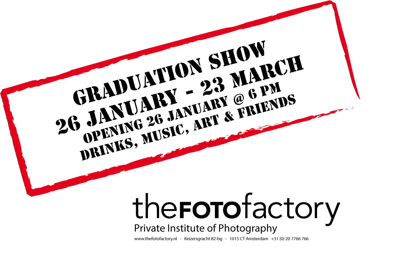 Graduationshow 2018 from the FOTOfactory