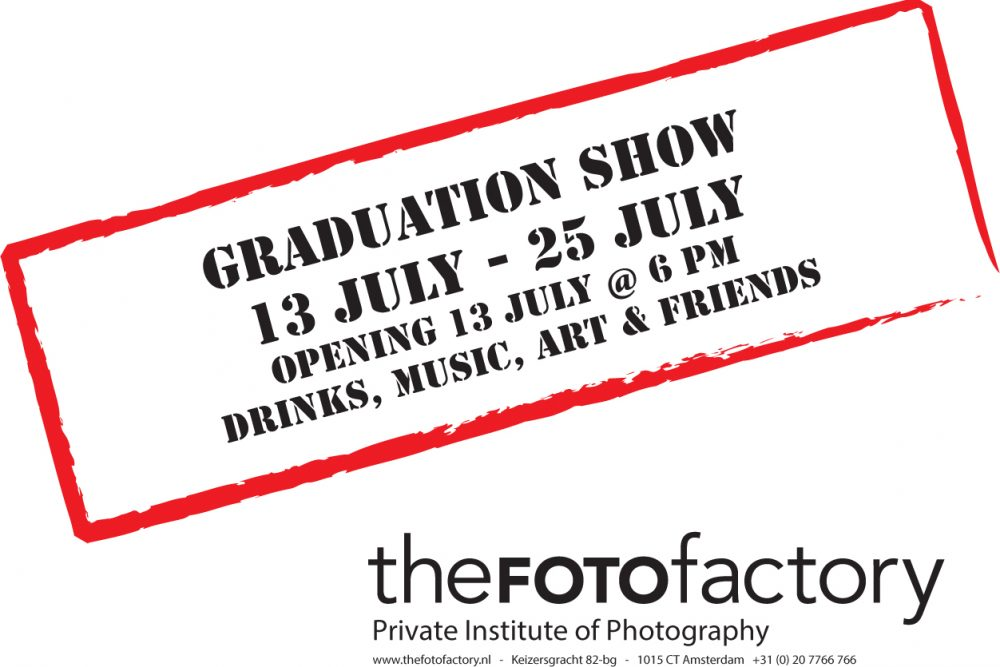 Graduationshow 2018 from the FOTOfactory at 13th of July at 6pm